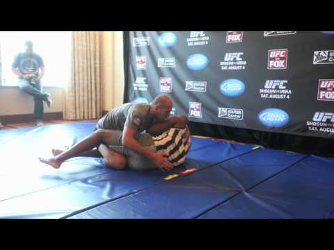 MMA Fighter Brandon Vera trains for his UFC on Fox fight against Shogun Rua Image 1
