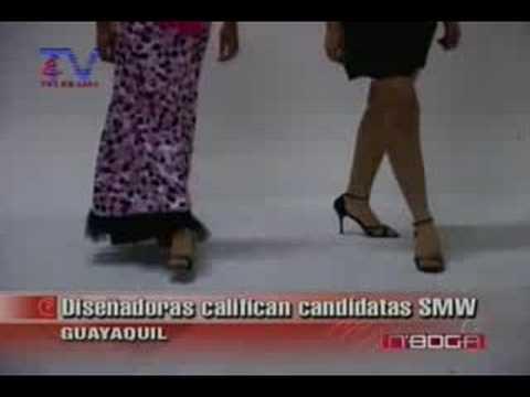 Diseñadoras califican candidatas SMW