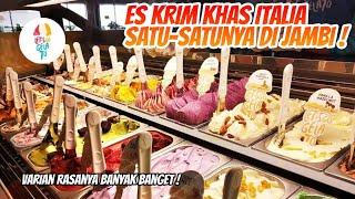 GELATO PERTAMA DI JAMBI - KULINER JAMBI - INDONESIA STREET FOOD - HARGA KERE RASA OKE