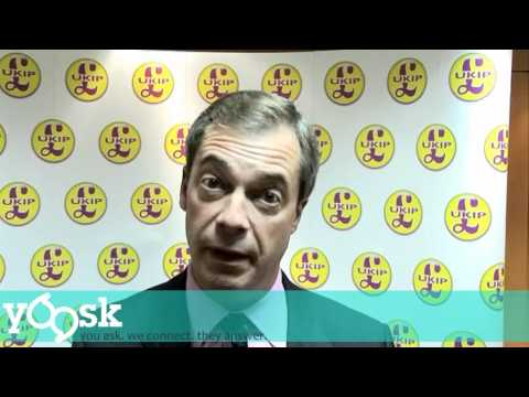 Nigel Farage: Who would Cameron, Clegg and Miliband be most afraid of?
