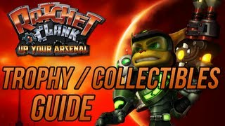 Ratchet and Clank 3: Up Your Arsenal - Trophy / Collectibles Guide