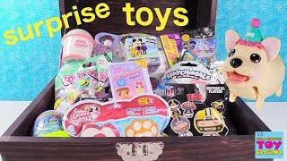 Simons Blind Bag Treasure Chest Slime Squish DeeLish Snackables Disney Toys | PSToyReviews