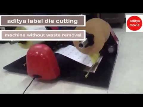 die cutting without a machine
