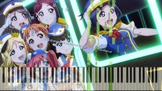 Piano - HAPPY PARTY TRAIN (full) - Love Live! Sunshine!!