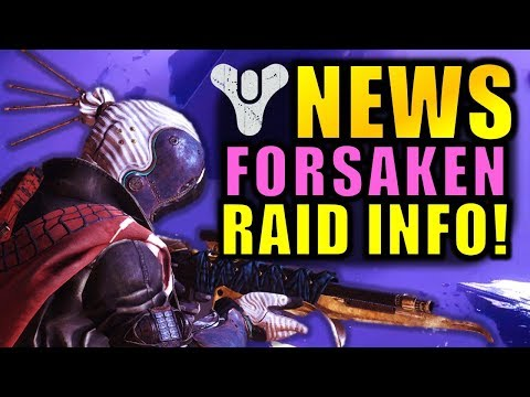 Destiny 2 News: NEW RAID INFO! - BIG Forsaken Info! - 3x Valor Weekend! thumbnail