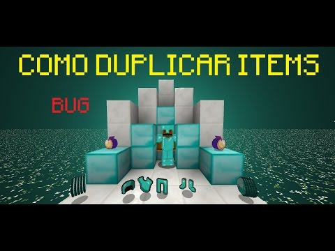 Minecraft   Tutorial ¿Cómo Duplicar Diamantes en 1.8? [BUG]