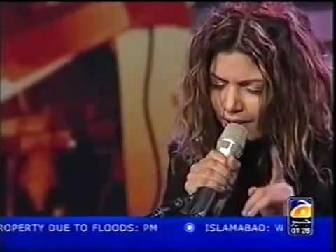 Hadiqa Kiyani Boohey Barian - Live video