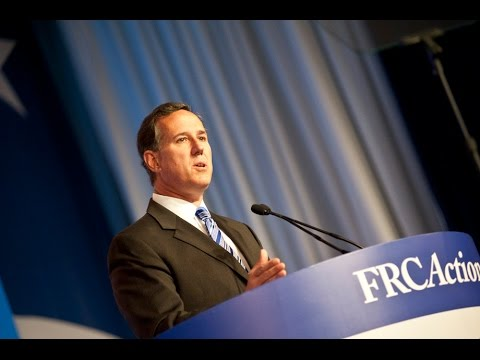Sen. Rick Santorum - Values Voter Summit 2014