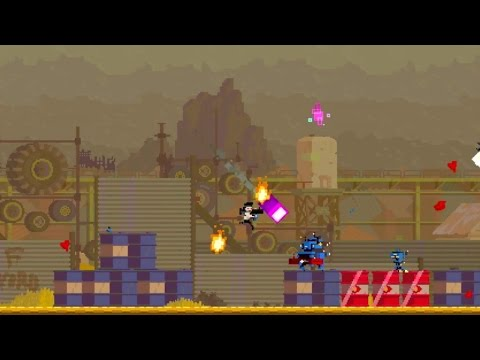 Super Time Force Ultra - Steam Release Date Trailer