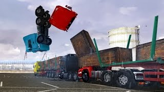 Crash Test 2 - ETS 2 - Euro Truck Simulator 2 New Mods - 2015