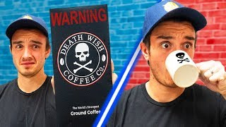 Trying The most Caffeinated Coffee In The World!