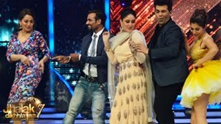 Kareena Kapoor on Jhalak Dikhhla Jaa 7 2nd August 2014 Episode | Singham Returns