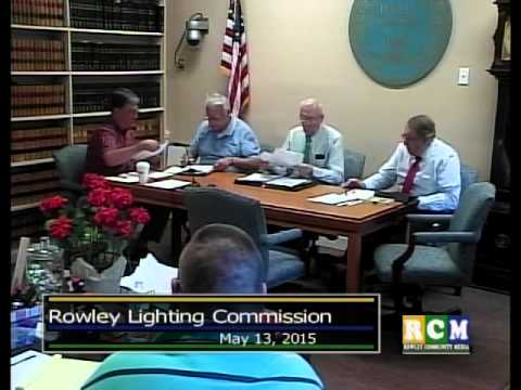 2074 1 Light Commissioners' Meeting 5 13 15