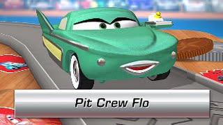 Cars Daredevil Garage PIT CREW FLO (Gameplay, Walkthrough) - iOS: iPhone, iPad / Android
