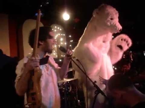 British Sea Power - Carrion + All In It (Live @ The 100 Club, London, 03/04/13)