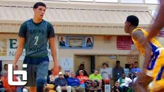 Lonzo Ball & Chino Hills TAKES DOWN no. 1 Montverde at City of Palms!