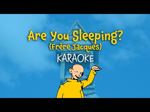 Are you sleeping? (Frère Jacques) | English Karaoke Version with Lyrics