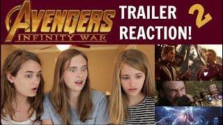 Infinity War Trailer 2 REACTION! (lots of HYPE!)