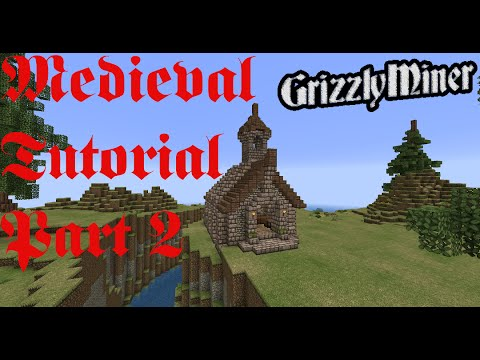 Minecraft Mittelalter Tutorial Kirche Church PART - Minecraft mittelalter haus bauen german