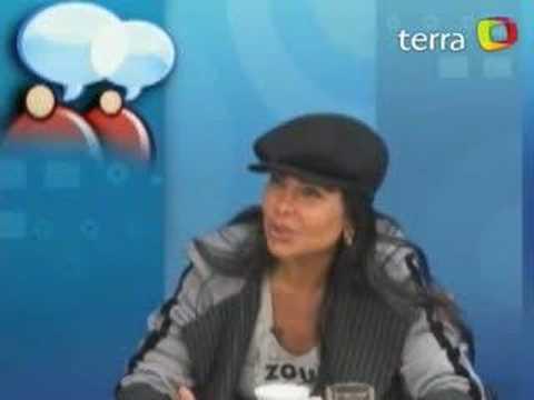 """Terra TV: """"Depois da cena de sexo, eu chorei muito"""""""