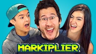 TEENS REACT TO MARKIPLIER