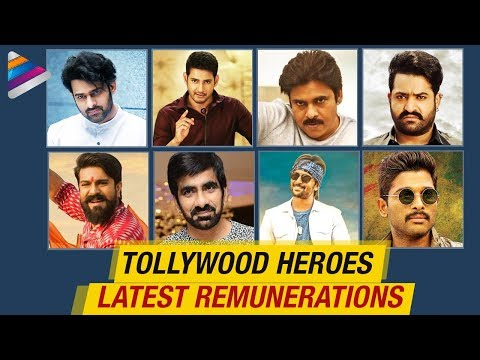 Tollywood Heroes Remunerations 2018 | Pawan Kalyan | Mahesh Babu | NTR | Allu Arjun | Ram Charan
