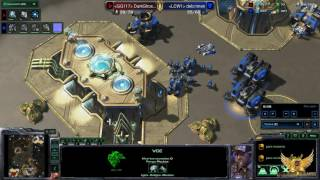 CAST EN ESPAÑOL. STARCRAFT 2 PROTOSS VS TERRAN (DIAMANTE)