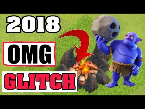 CLASH OF CLANS. 2018 AMAZING ARMY CAMP GLITCH.THIS IS INSANE.
