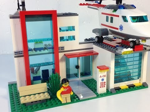LEGO City 4429 Helicopter Rescue - Review - LEGO Hospital