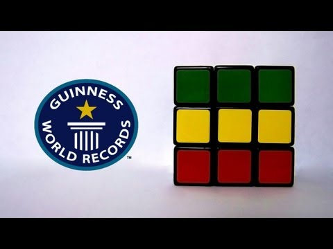 Rubiks Cube Official (Former) World Record 3x3x3 - 6.77 - Feliks Zemdegs
