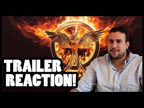 Hunger Games: Mockingjay (Part 1) Trailer Reaction - Cinefix Now