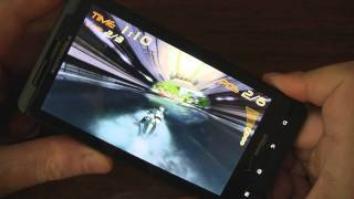 Riptide GP review on Motorola Droid X2 Android (Tegra 2 dual-core processor)