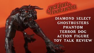Diamond Select Ghostbusters Phantom Terror Dog Figure Translucent TRU Exc Review Action Features Toy