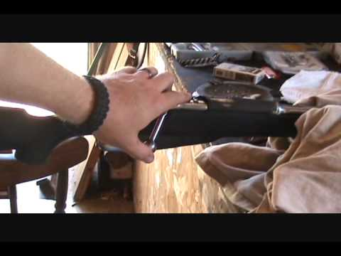Mosin Nagant Custom Sniper Rifle Stock fitting and barrel freefloat pt 2.