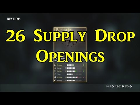 ADVANCED WARFARE NOW PAY2WIN? (Supply Drop Openings)