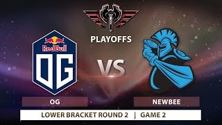 OG vs Newbee Playoffs | Bo3 | Game 2 | MDL Changsha Major: Playoffs
