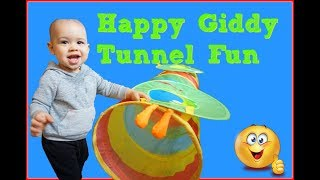 GIANT SURPRISE CATERPILLAR POP UP TUNNEL FOR BABIES, KIDS AND ADULTS
