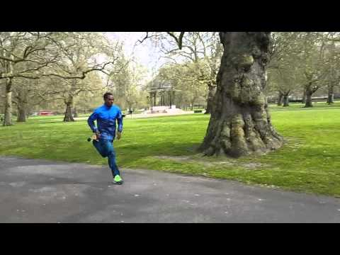 LONDON MARATHON 2016 WEEK | Kenenisa Bekele Gets ready