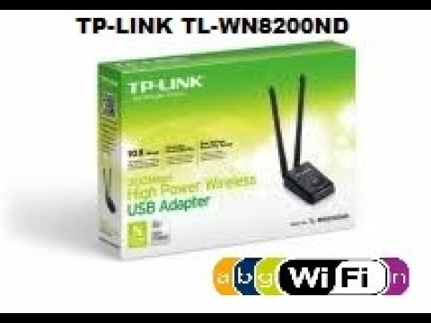 unboxing de la antena tp-link usb modelo TL-WN8200ND dos antenas