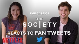 The Cast of Society Reacts to Fan Tweets