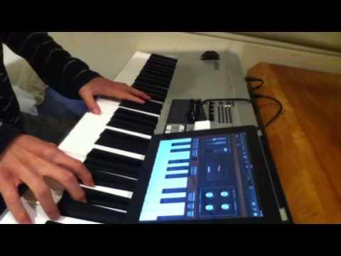 Teclado. Sintetizador o Controlador MIDI Conectado al iPad - Parte 1