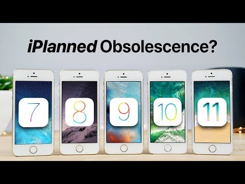 iOS 7 vs 8 vs 9 vs 10 vs 11 on iPhone 5S Speed Test!