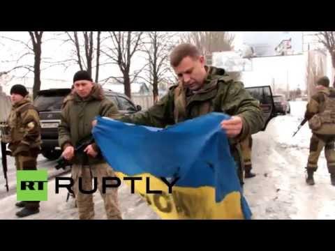 Ukraine: 'Poroshenko man-up and collect the Ukrainian flag' - DPR's Zakharchenko