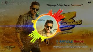 Dabang 3 full entry BGM RINGTONE|SALMAN KHAN entry