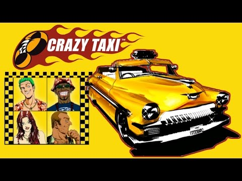 Vamos Recordar - Crazy Taxi - Game Play - 720p