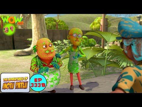 Motu Patlu Ki Painting - Motu Patlu in Hindi - 3D Animation Cartoon for Kids -As seen on Nickelodeon thumbnail