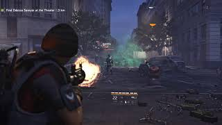 The Division 2 *Technical Test* Weird lag before server disconnect