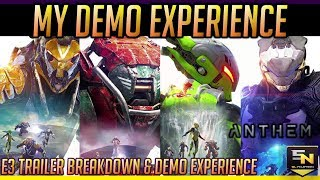 Anthem | EA Play Demo Breakdown- Up close with Anthem