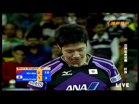 2015 Asian Cup Ms-SF1: XU Xin - MIZUTANI Jun [Full Match/720p]