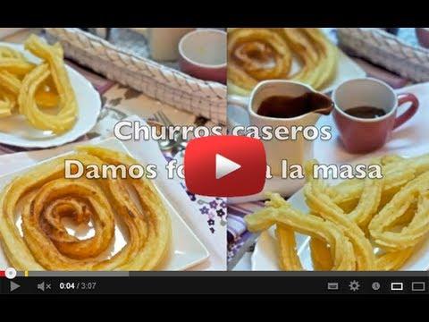 Utensilios para hacer churros youtube - Como hacer churros en casa ...